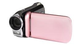 Caméra vidéo. Image stock