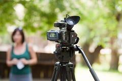 Caméra vidéo Photo stock