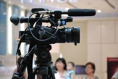Caméra vidéo Images stock