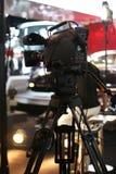 Caméra vidéo d'émission Photos libres de droits
