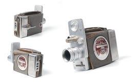 Caméra vidéo de cru Images stock