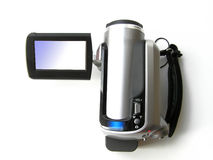 Caméra vidéo digitale portative Photo stock