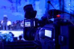 Caméra vidéo digitale professionnelle Image stock