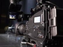 Caméra vidéo digitale professionnelle Photographie stock libre de droits