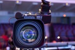 Caméra vidéo digitale professionnelle Images libres de droits
