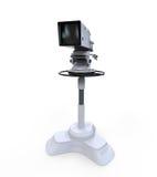 Caméra vidéo professionnelle de Digital de studio de TV Photo libre de droits
