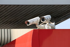 Caméras de sécurité Images libres de droits