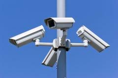 Caméras de sécurité Photo libre de droits