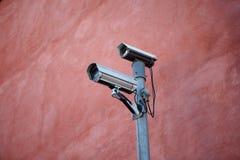 Caméras de sécurité Image stock