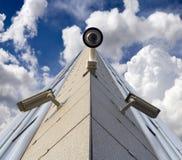 Caméras de sécurité image libre de droits
