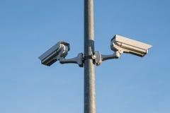 Caméras de sécurité Photographie stock libre de droits