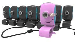 Caméras web Image libre de droits