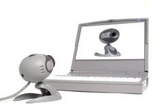 cam computer vanity web 图库摄影