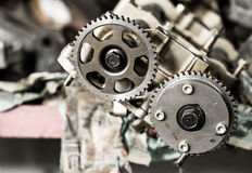 Cam gear Stock Images