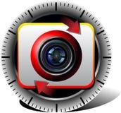 Cam icon Stock Image