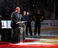 Cam Neely addresses fans Oct 6, 2011 Stock Image