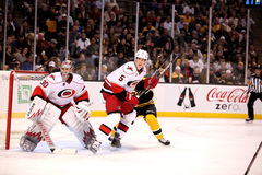 Cam Ward and Bryan Allen Carolina Hurricanes Royalty Free Stock Photography