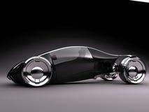 cam2 σκοτεινό στούντιο conceptcar1 Στοκ Φωτογραφίες