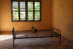 Cama 3 de la prisión S21 Fotos de archivo