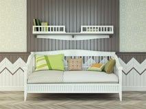Cama de bebê Imagem de Stock