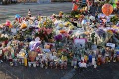 Cama de flor dedicada de Las Vegas fotos de stock