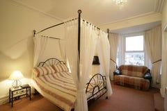 Cama de la cama imperial Imagen de archivo libre de regalías
