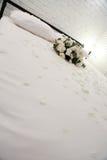 Cama de la luna de miel Fotos de archivo