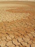 Cama de lago seco Foto de Stock
