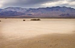 Cama de lago seco Panamint Foto de archivo
