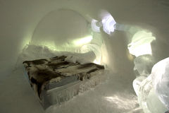 Cama del hielo Imagen de archivo