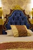 Cama do hotel Fotografia de Stock