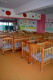 Cama em um orfanato Fotos de Stock