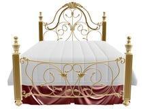 Cama luxuosa Imagens de Stock Royalty Free