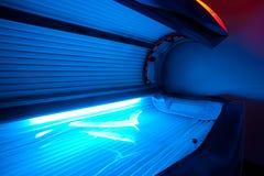 Cama moderna del solarium Imagen de archivo libre de regalías