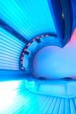 Cama moderna del solarium Fotos de archivo libres de regalías