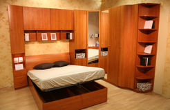 cama Plegable-plana imagenes de archivo