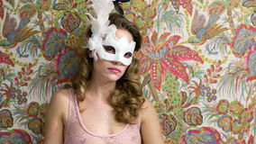 Cama 'sexy' da máscara da mulher filme