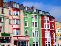 Cama - y - hoteles del desayuno Foto de archivo