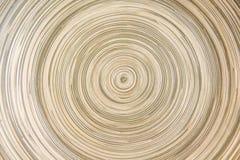 A camada abstrata de bambu na linha arredondou testes padrões para a textura ou o fundo foto de stock