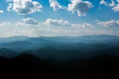 Camada de montanha Fotos de Stock Royalty Free