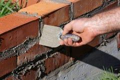 Camada de tijolo imagem de stock royalty free