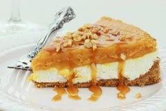 A camada dobro nenhuma coze a torta de abóbora Fotografia de Stock