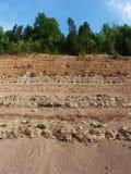 Camadas 3 da terra Imagem de Stock Royalty Free