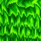 Camadas abstratas da cor verde Grama molhada Parede verde da folha Frame cheio Parte traseira do computador do estilo antigo Erva Foto de Stock