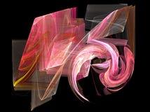 Camadas cor-de-rosa Imagem de Stock Royalty Free