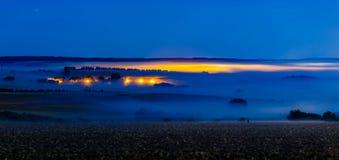 Camadas da névoa Imagem de Stock Royalty Free