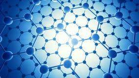 Camadas de Graphene ilustração do vetor