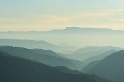 Camadas de montanha Imagem de Stock Royalty Free