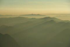 Camadas de montanha Imagem de Stock