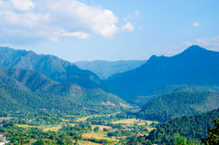 Camadas de montanha Foto de Stock